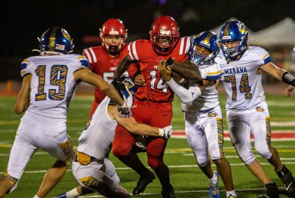 Picture for Friday's high school football matchups, locations — and predictions
