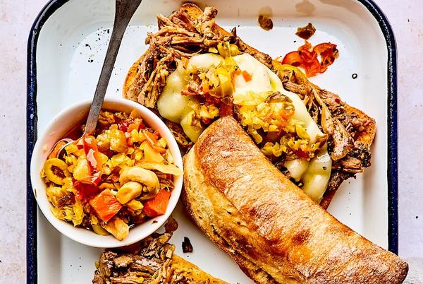 Picture for Slow Cooker Italian Beef Sandwiches