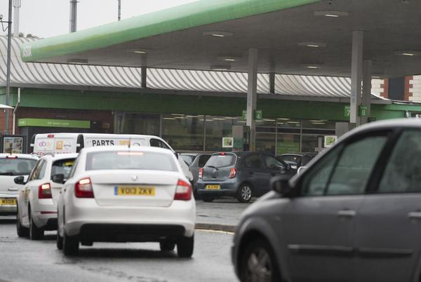 Picture for UK mulls calling in army to help ease gas shortages at pumps