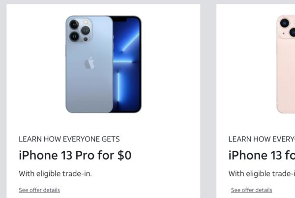 Picture for Buy a 'free' iPhone 13 with trade-in: Everything to know about Verizon, T-Mobile and AT&T's deals