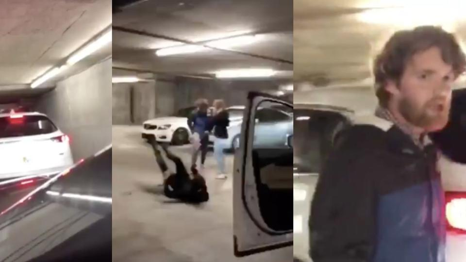 White Couple block Mexican American from entering apartment building: Racism in San Francisco