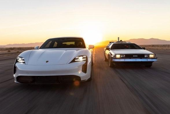Picture for Porsche celebrates Back to the Future Day with fun video