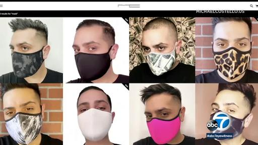 La Designer Michael Costello Pivots From Gowns For A Listers To Masks For Front Line Workers News Break
