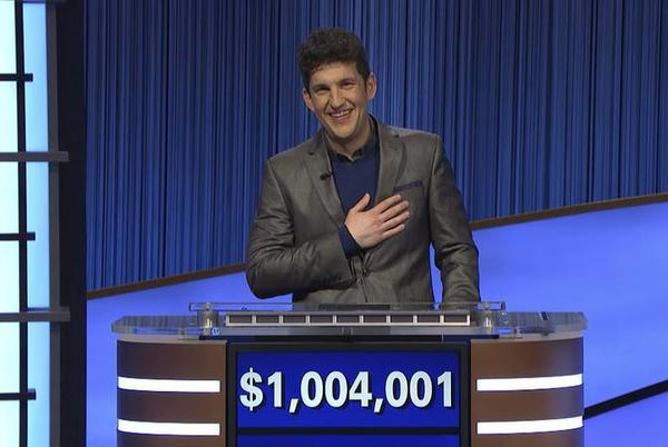 Picture for Yale student's winning run on 'Jeopardy!' makes history