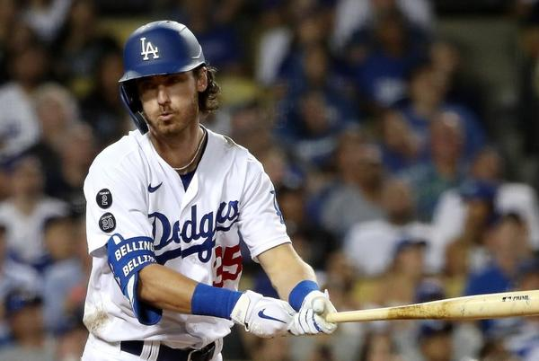 Picture for Dodgers' Cody Bellinger goes to IL for third time, this time with rib fracture