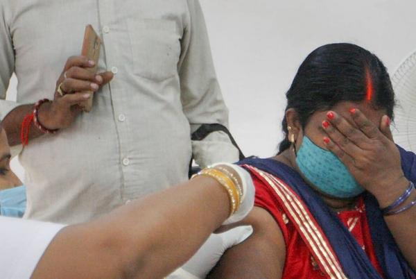 Picture for Entire Adult Population in 9 States, UTs Given 1st Dose Vaccine; National Average at Over 75 Pc