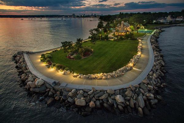 Picture for CT home designed by 'Gatsby' architects sets record for highest waterfront sale in Stamford