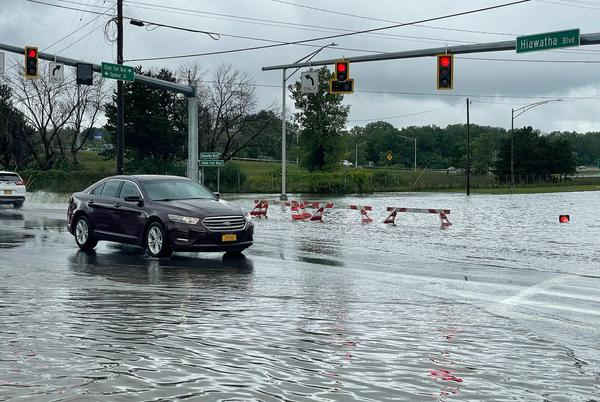 Picture for After a soaking summer, Upstate NY could get flooding rain to start fall