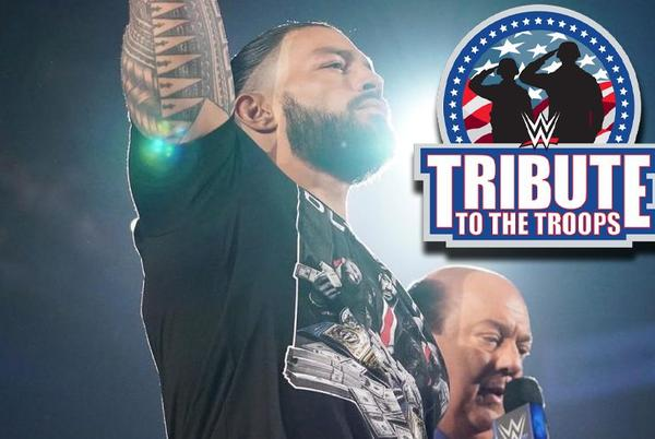 Picture for Spoiler On Roman Reigns' Match For WWE Tribute To The Troops
