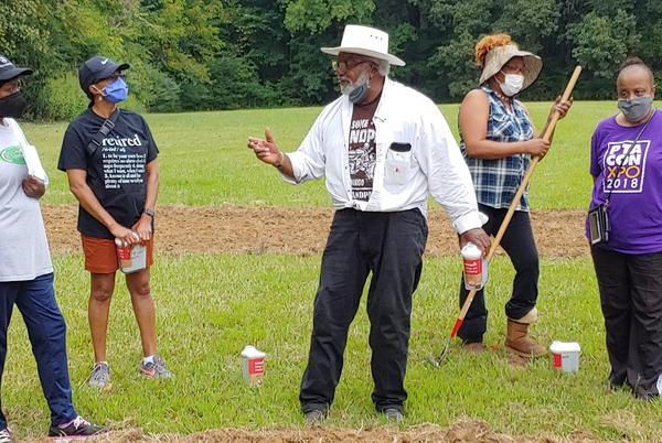 Picture for College of Medicine Sows Seeds of Health in New Frayser Community Garden
