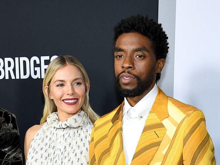 Chadwick Boseman Took Pay Cut To Give Sienna Miller Salary She Deserved News Break
