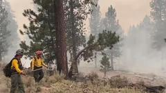 Cover for Catching up with Utah's own helping fight wildfires in Oregon