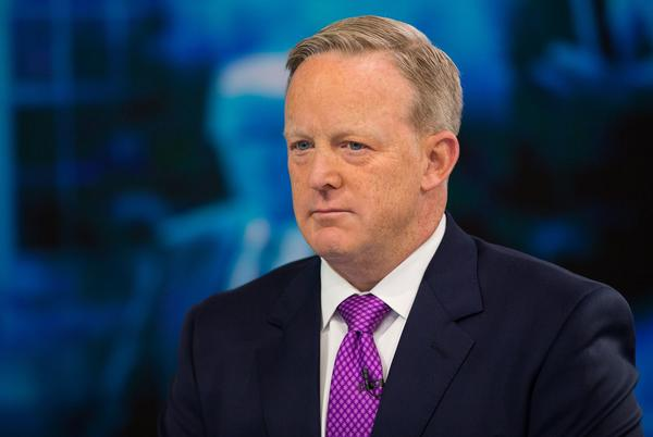 Picture for Sean Spicer, Russ Vought sue Biden over Naval Academy Board removal