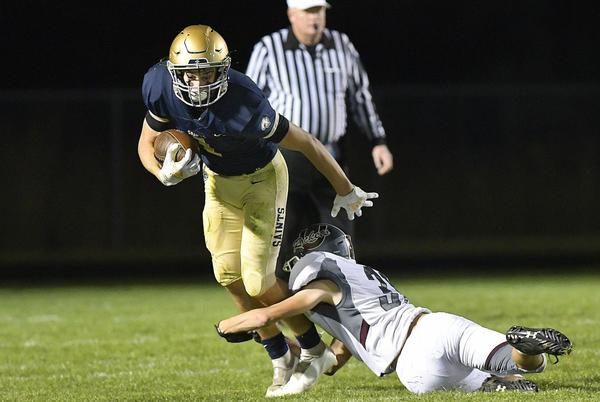 Picture for Watch now: Playing without Jake Slaughter, Central Catholic upended by Tolono Unity
