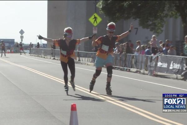 Picture for 25th Annual Inline Marathon Rolls Through Northland