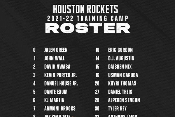 Picture for Rockets Announce Training Camp Roster
