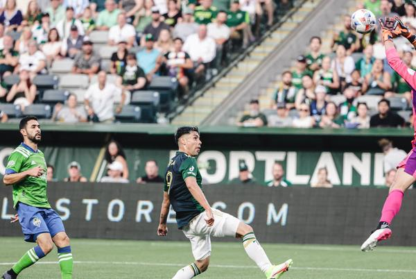 Picture for Stefan Cleveland rises to the occasion in first match against Portland Timbers