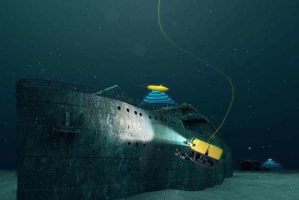 Picture for Submersible vessel that explored the Titanic coming to Greenwich, and guests can go inside