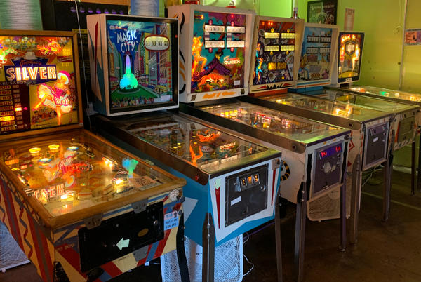 """Picture for Charlottesville's Decades Arcade is going """"full tilt"""""""