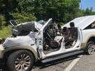 Picture for Alexandria woman dies after crashing pickup into a parked tractor-trailer on side of I-95