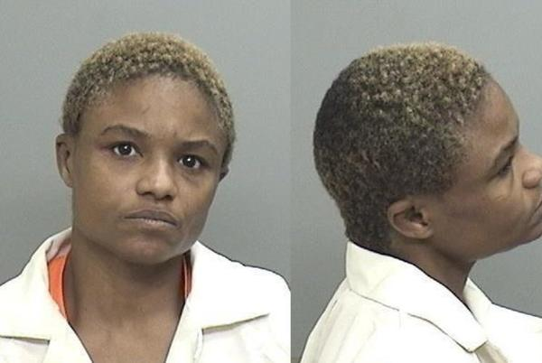 Picture for Woman assaults her man with thrown books, metal rod