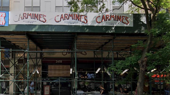 Cover for Woman accused of attacking Carmine's hostess over vaccine status was called racial slur: lawyer