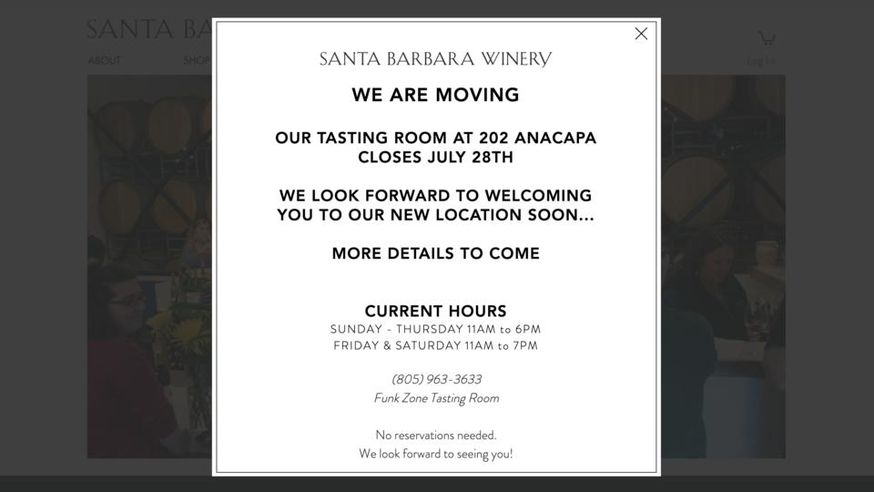 Picture for Santa Barbara wine tasting rooms in the Funk Zone are opening, closing and moving