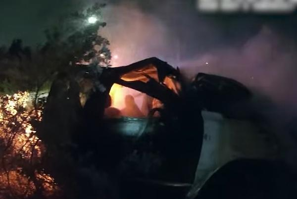 Picture for WATCH: Texas Police Officers Rescue Unconscious Man from Burning Car