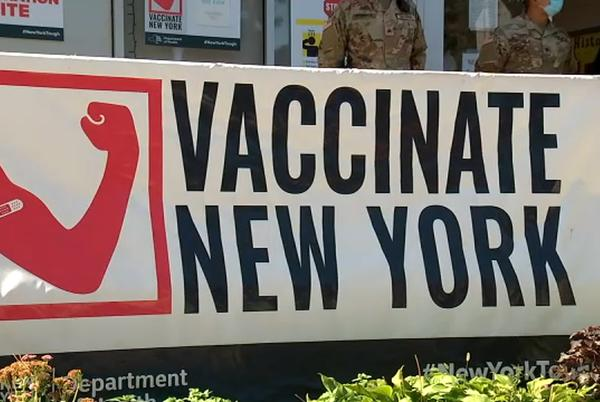 Picture for NY COVID vaccine mandate for health care workers begins; unvaccinated workers face termination