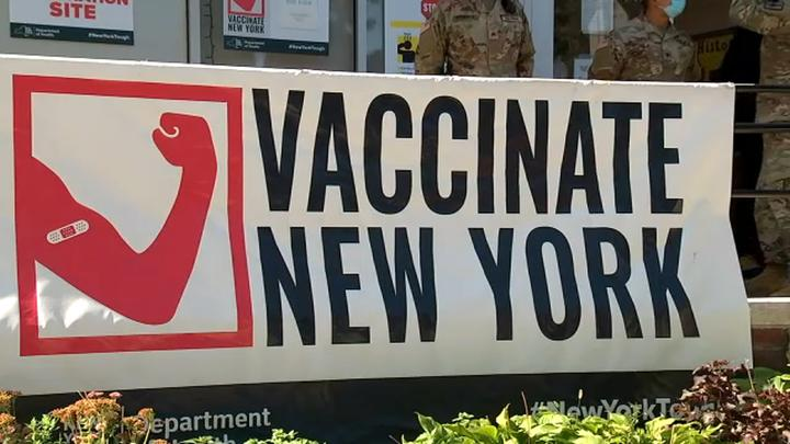 Cover for NY COVID vaccine mandate for health care workers begins; unvaccinated workers face termination