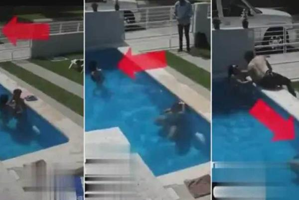 Picture for Man Nearly Drowns While Hiding In A Swimming Pool After His Lover's Husband Came Home Unannounced