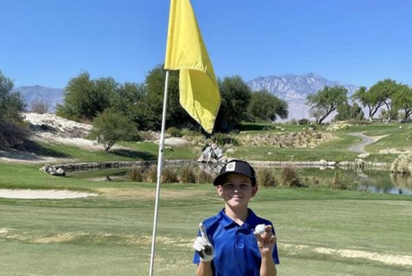 Picture for 11-year-old does the near impossible: Makes two holes-in-one in one U.S. Kids tournament round