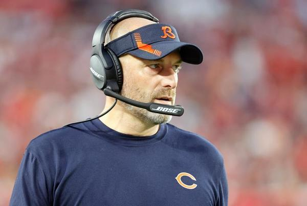 Picture for Matt Nagy tests positive for COVID-19