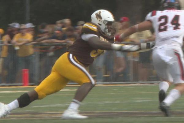 Picture for University of Wyoming defense plays like it has something to prove