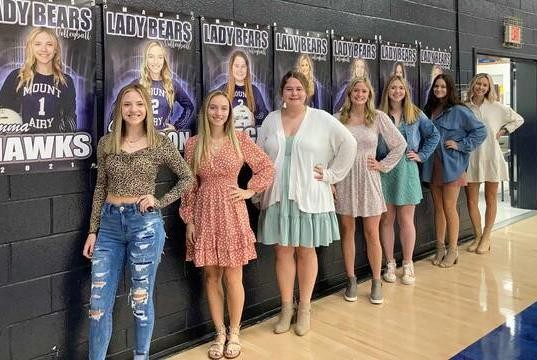 Picture for Lady Bears honor seniors