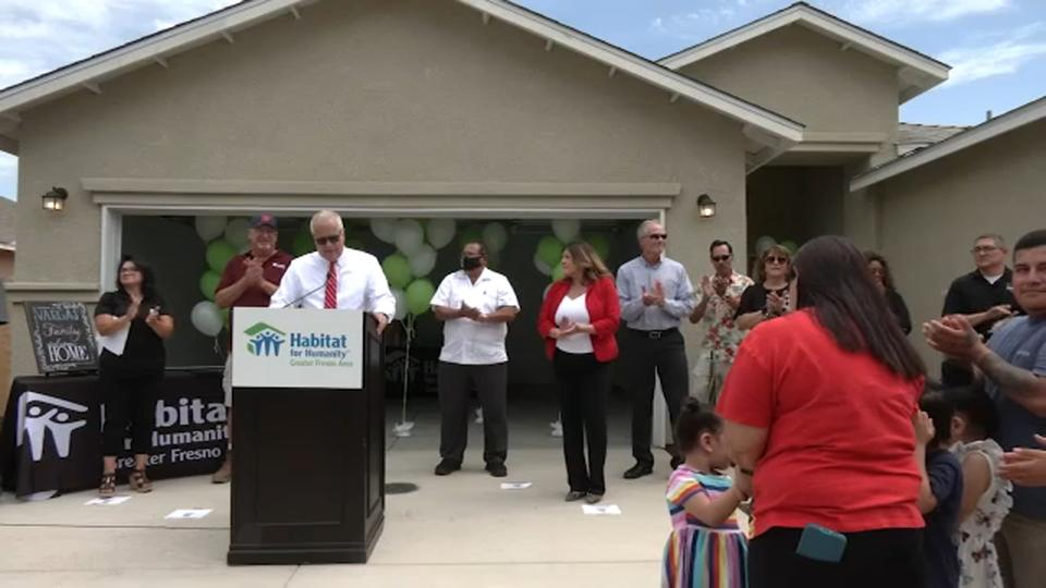 Picture for Madera family becomes homeowners through Habitat for Humanity