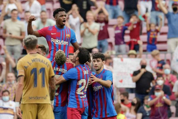 Picture for Barcelona 3-0 Levante summary: score, goals, highlights, LaLiga 2021/22