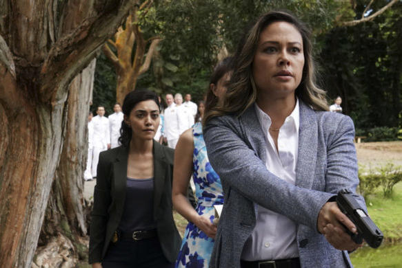 Picture for 'NCIS: Hawai'i' Star Vanessa Lachey Is a 'Professional Badass' in New Photo