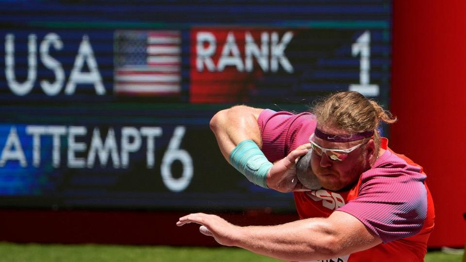 Picture for Crouser sets Olympic record, defends shot put title in Tokyo