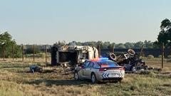 Cover for 2 seriously hurt in 3-vehicle crash on interstate near PPIR; northbound I-25 closed