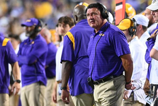 Picture for Orgeron out as LSU football coach after 2021 season