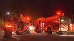 Cover for 1 man, 1 dog rescued from Durham duplex fire, officials say