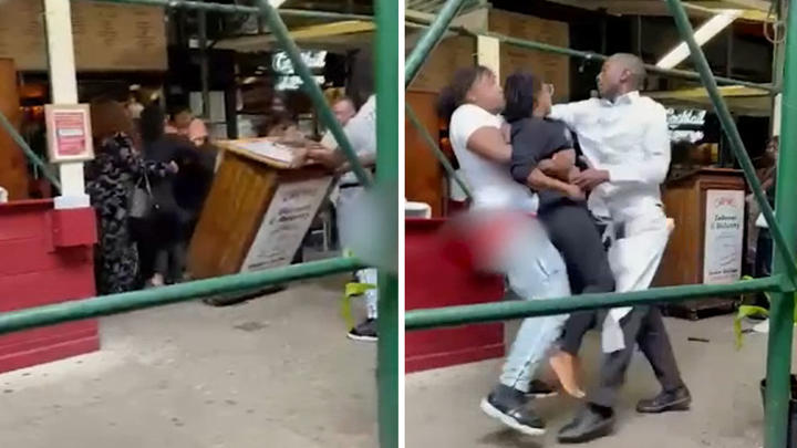 Cover for Video shows Houston women assault New York City restaurant hostess over COVID-19 vaccine requirement