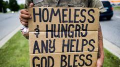 Cover for What about the guy with the homeless sign? Readers have ideas – Terry Pluto's Faith & You