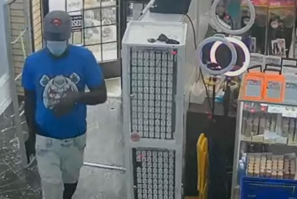 Picture for Wanted: Suspect believed to be responsible for series of robberies in one day