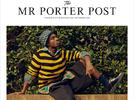 Picture for Caleb McLaughlin is the Cover Boy of Mr Porter April May 2021 Issue
