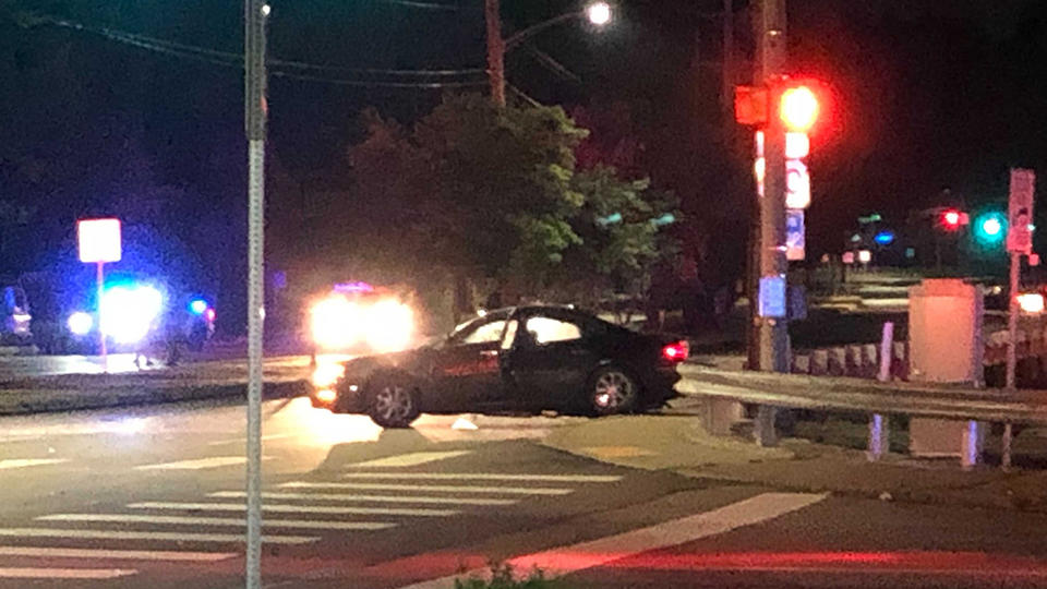 Picture for Violent SUV Crash Briefly Shuts Down Portion Of Ardmore Boulevard