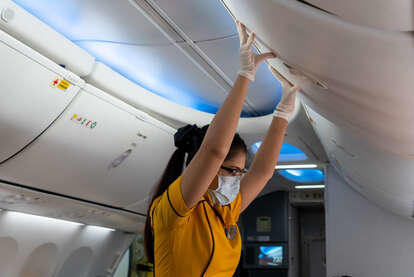 Picture for Flight Attendants Want to Put Problematic Passengers on 'No-Fly' List