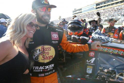 Picture for 'Start Your Engines!': Sherry Pollex, Martin Truex Jr.'s Girlfriend, Brings Her Battle with Ovarian Cancer to Center Stage at NASCAR With Inspiring Message