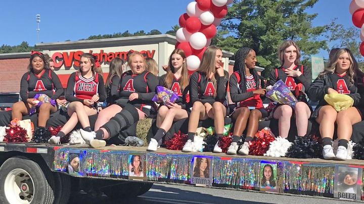 Cover for Images from the 2021 Avery High School Homecoming Parade